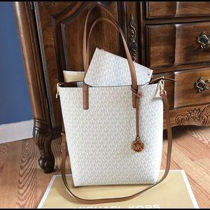 New Michael Kors Hayley Handbag Purse MK Bag